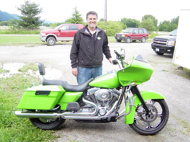 Dave Wilhdlm and his 2005 Road Glide