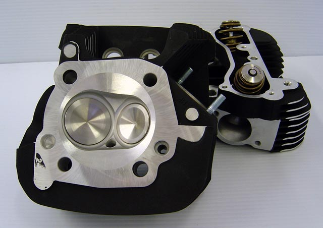 CNC Ported Buell Sportster XL1200 Heads