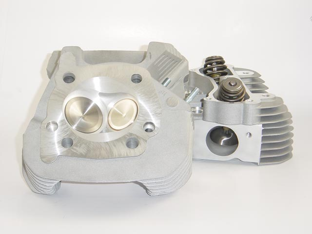 HAMMER PERFORMANCE CRUSH CNC Ported Buell XB Cylinder Heads