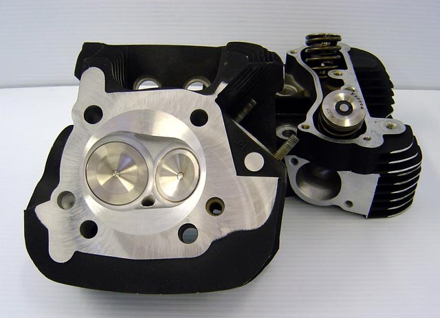 CNC Ported Sportster XL1200 Heads