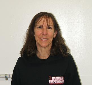 Susan Wilson of HAMMER PERFORMANCE