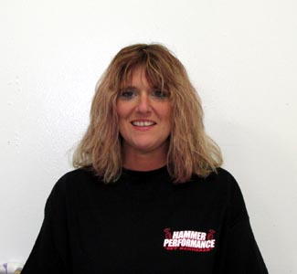 Susie Norlin of HAMMER PERFORMANCE