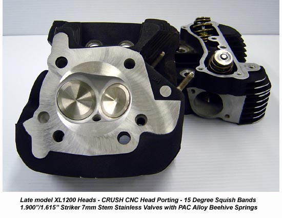 Hammer Performance CRUSH CNC Ported Cylinder Heads